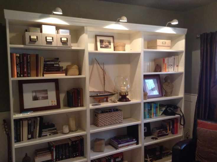 Bookcase lights Ikea  Repair Renew Restore  Pinterest