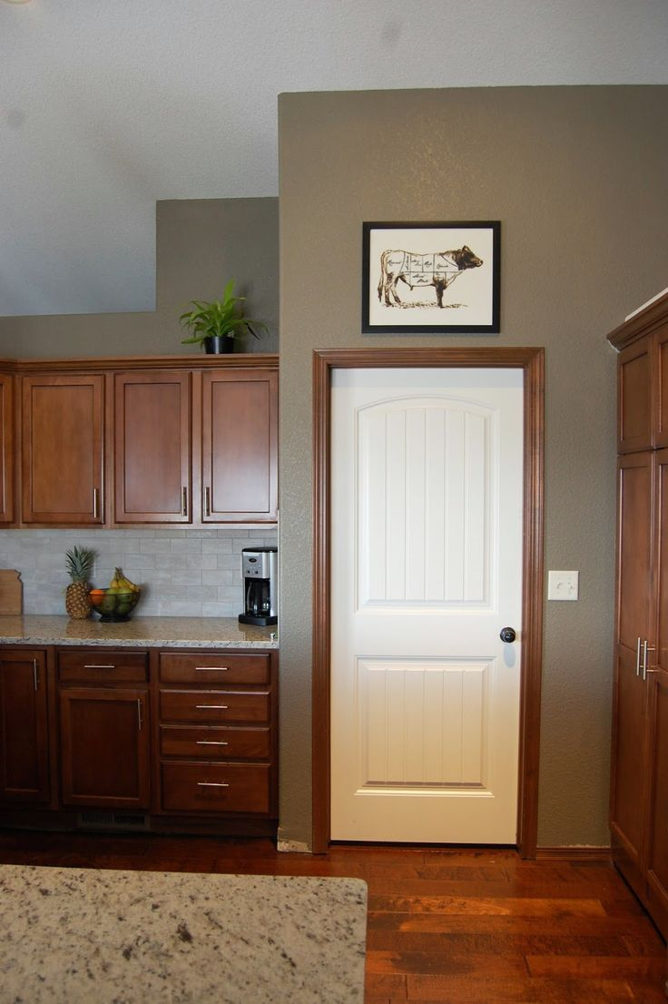 Best 25 Brown trim ideas on Pinterest  Brown kitchen paint diy Painting cupboards and