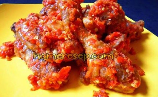 Resep Ayam Goreng Padang Balado Resep Masakan Indonesia