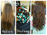 1000 ideas beach wave perm