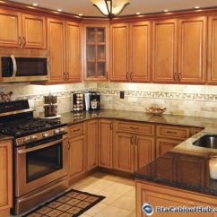 Kitchen Cabinets Online Wholesale Pantrys Honey Colored | Sandstone Rope - Rta ...