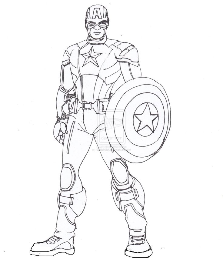 Captain America Lines by ConstantM0tion.deviantart.com on