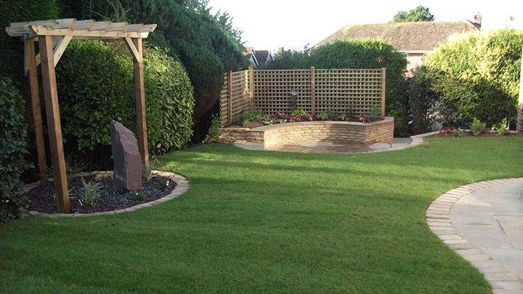 Landscape Garden Design In Bexhill Medium Size Garden East