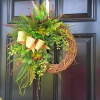 1000+ ideas about Year Round Wreath on Pinterest | Burlap ...