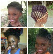 4c natural hair simple braids