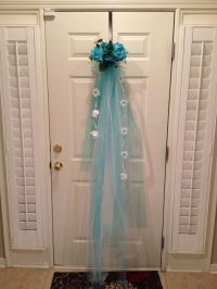 Bridal shower door decorations | Bridal Shower door ...