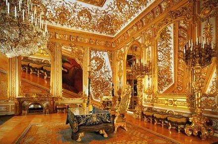 HERRENCHIEMSEE PALACE of King Ludwig II of Bavaria  known