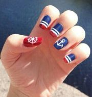 ideas nautical nail