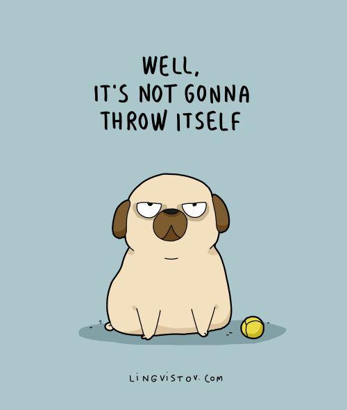 Best 25 Pug Cartoon Ideas On Pinterest