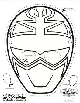 Yellow Power Ranger Super Megaforce Coloring Pages, Yellow