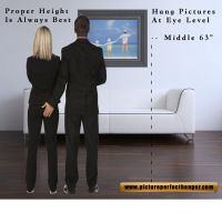 best height to hang pictures on wall | Roselawnlutheran