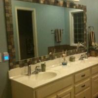 25+ best ideas about Tile mirror frames on Pinterest ...