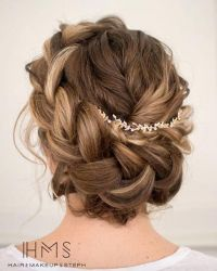 25+ best ideas about Braided Updo on Pinterest | Simple ...