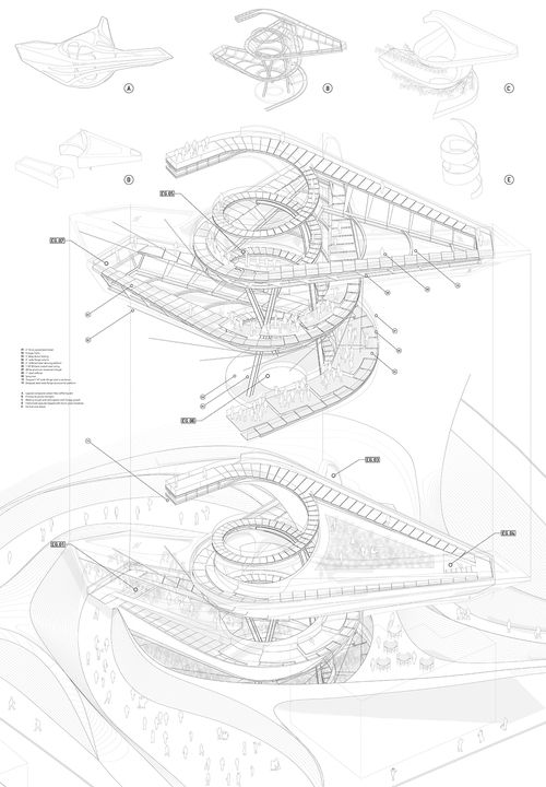 1264 best images about Architecture graphics on Pinterest