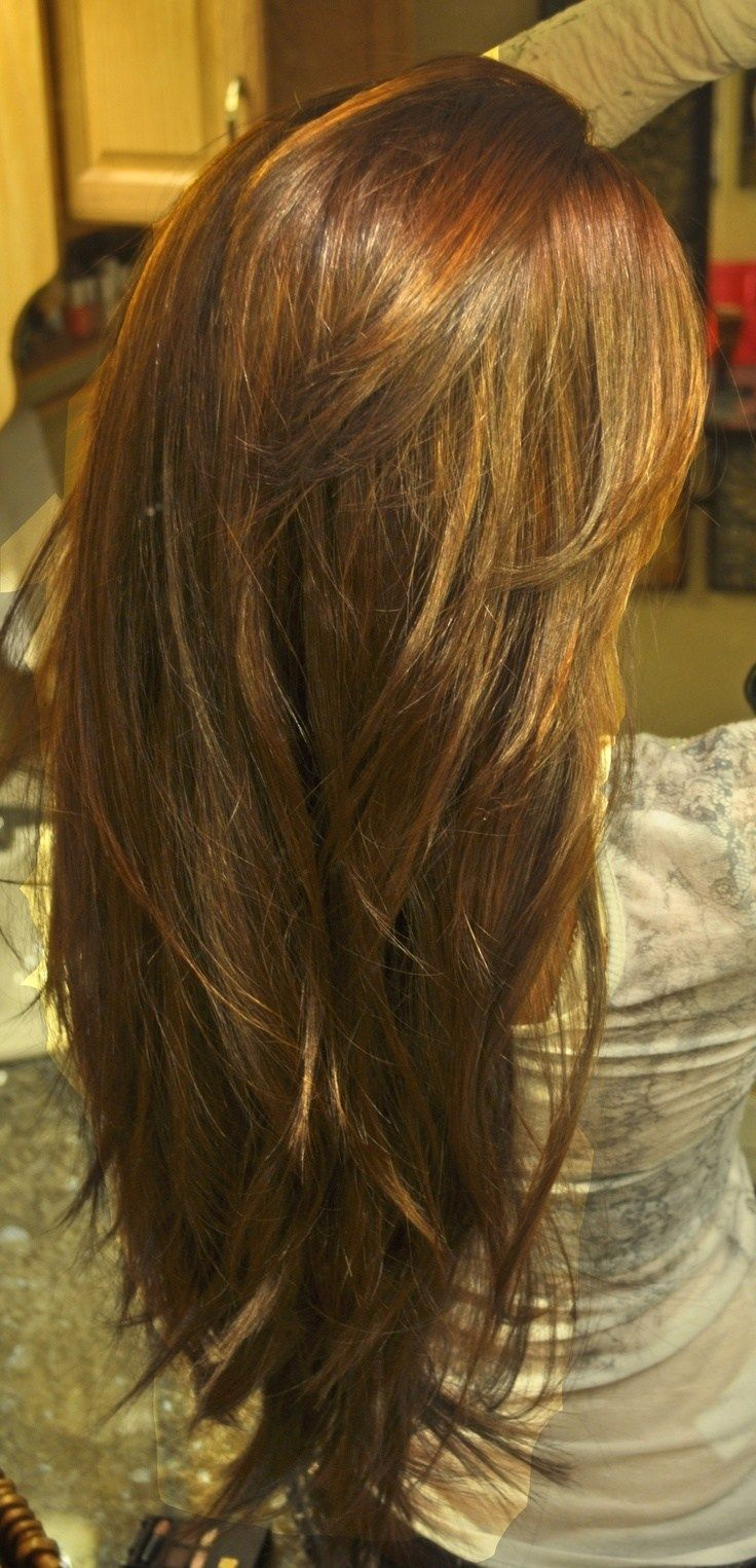 17 Best ideas about V Layered Haircuts on Pinterest  V layers V cut long layers and V layer cut