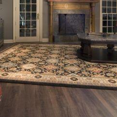 Oak Wood Floor Living Room Small Diy Ideas Dalton Dream Home Installation- Carpets Of Coretec ...