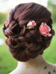 ideas updo hairstyle
