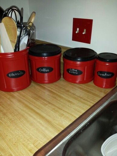 Folgers Coffee Can Canisters Love To Craft Pinterest