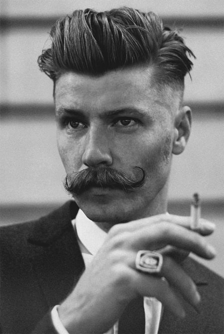 17 Beste Ideer Om 1920s Mens Hairstyles På Pinterest Frisyrer