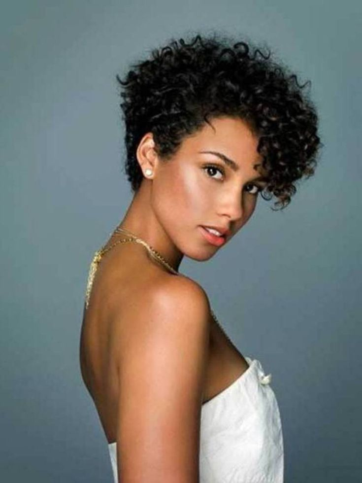 25 Best Ideas About Short Natural Curly Hairstyles On Pinterest