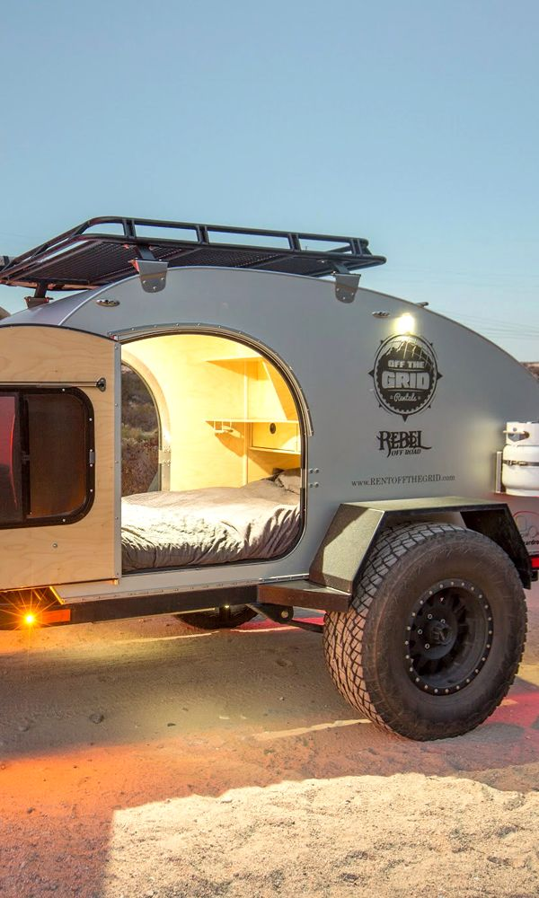 Save 20K! Rent a Rugged Teardrop Trailer Renting Bank