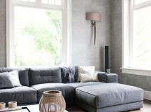 25 best images about Gray Sectional Sofas on Pinterest! | Family room sectional, Grey basement ...