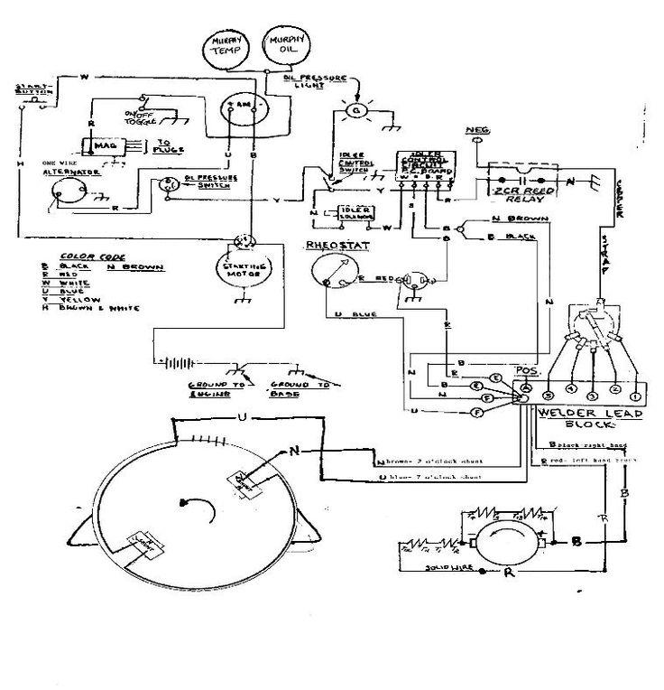 lincoln sa200 welding machine wiring diagram