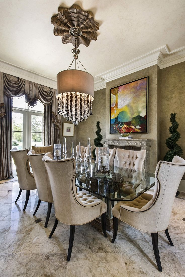 1000 ideas about Elegant Dining Room on Pinterest  Formal dining decor Dining room table
