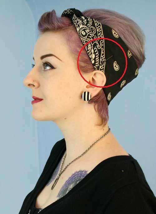 Die Besten 25 Kurze Haare Schals Ideen Auf Pinterest