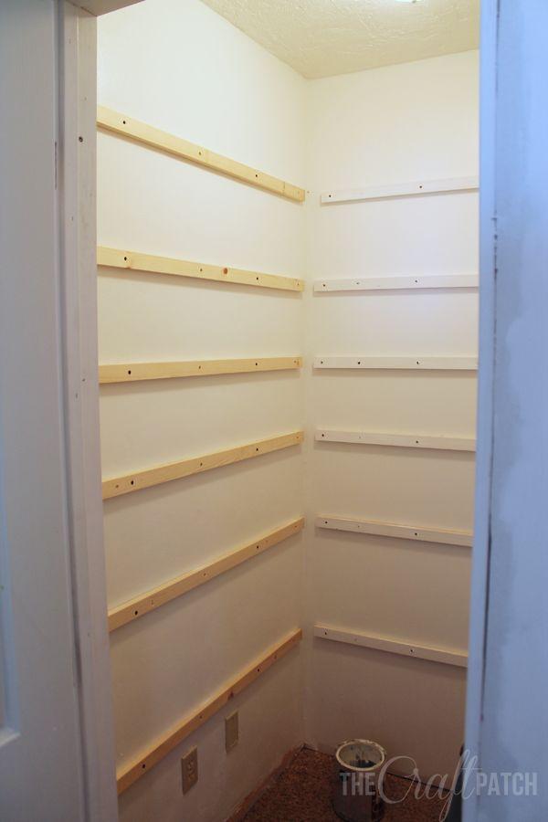 How To Build Wood Closet Shelves