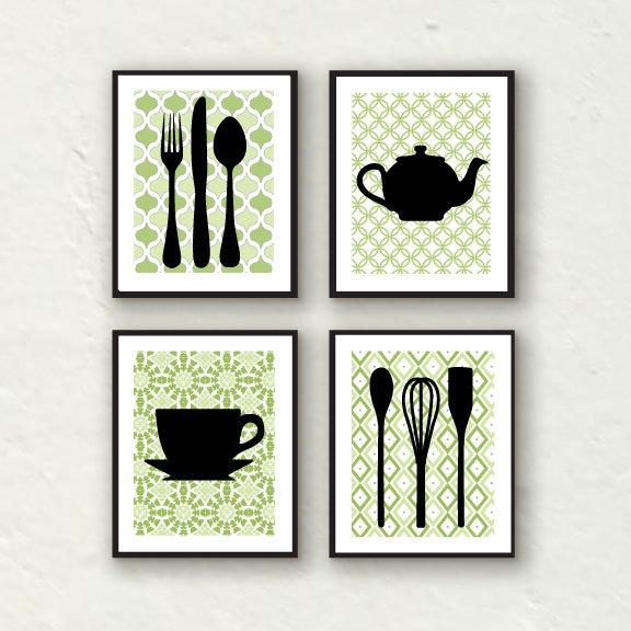Kitchen Wall Decor Ideas Fork Art Spoon