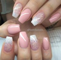 25+ Best Ideas about Pink Gel Nails on Pinterest | Gel ...