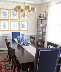 17 Best ideas about Navy Dining Rooms on Pinterest | Blue ...