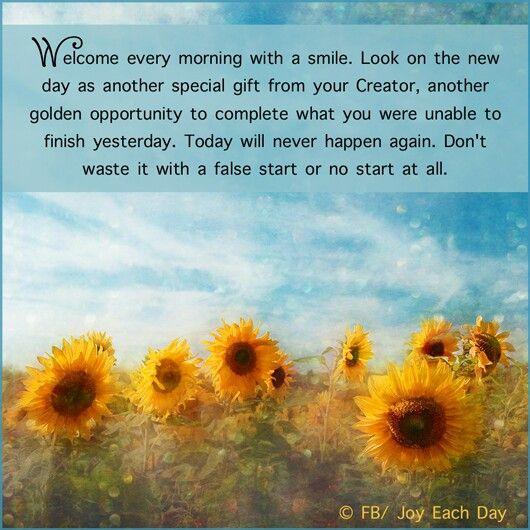 Cute good morning quotes Facebook Com  Joy Each Day
