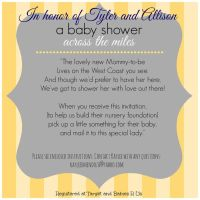 Long distance baby shower invitation, virtual baby shower ...