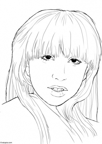 34 best images about Famous people CoLoRing Pages on