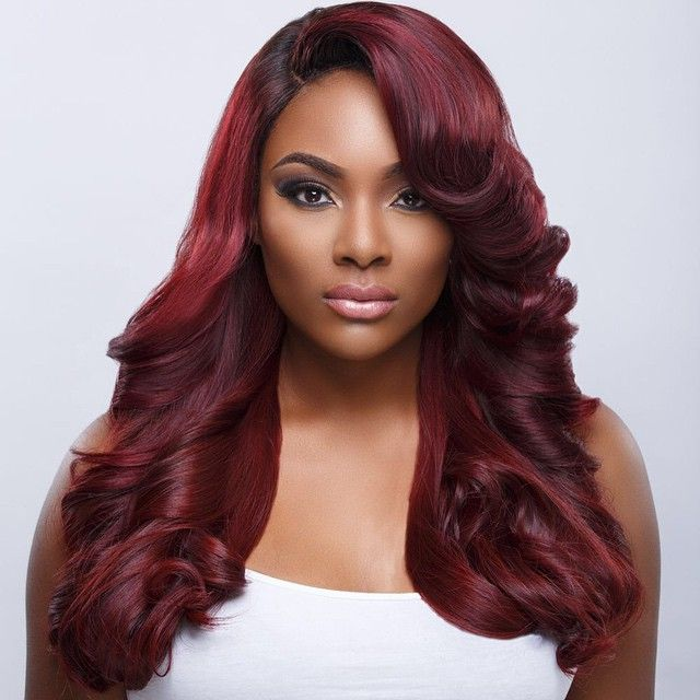 25 Best Ideas About Red Weave Hairstyles On Pinterest Red Weave