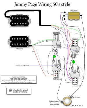 Jimmy Page 50s Wiring  MyLesPaul | Instruments
