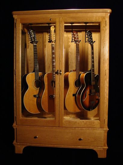 How To Build A Guitar Display Cabinet  WoodWorking