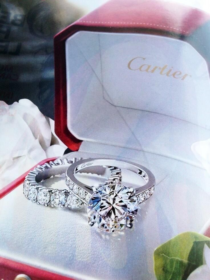 Cartier engagement ring.
