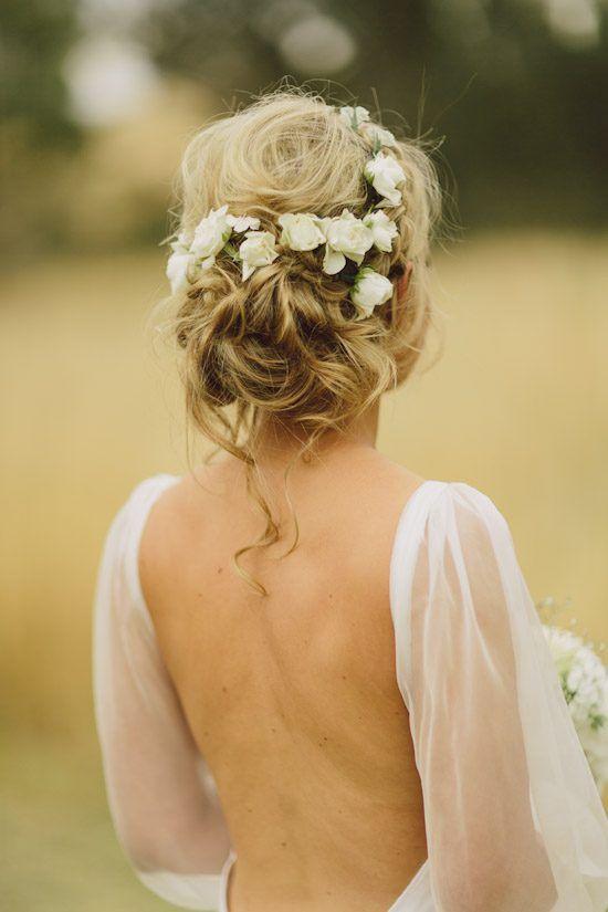 25 Best Ideas About Flower Hairstyles On Pinterest Simple Bun