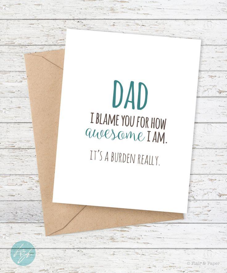 Best 25 Dad Birthday Cards Ideas On Pinterest Funny