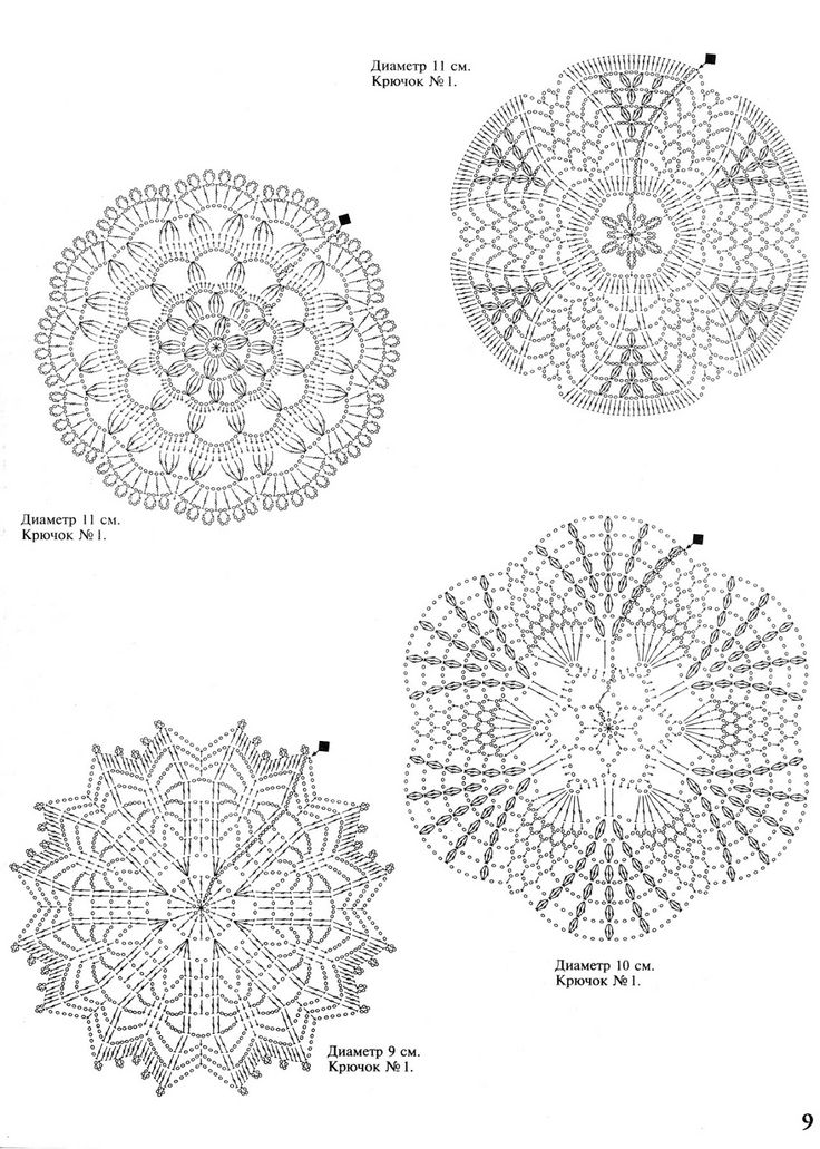 336 best images about Crochet small doily on Pinterest