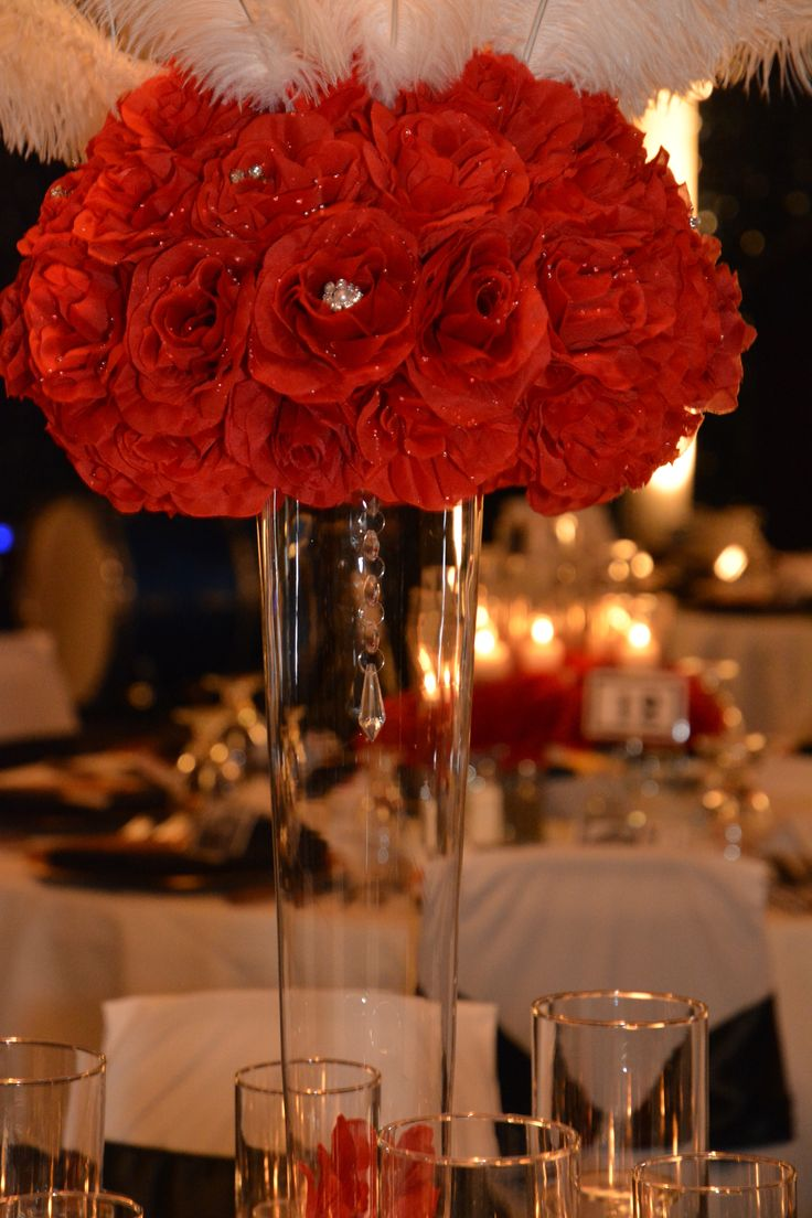 25 Best Ideas About Feather Wedding Centerpieces On