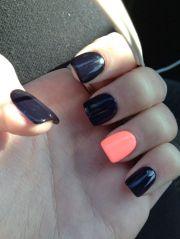 simple fall nails ideas