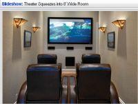 Very small media room-I do like it | Media room ...