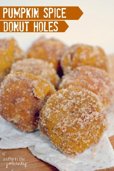 Delicious Pumpkin Spice Donut Recipe. This is perfect for FALL and they are bake