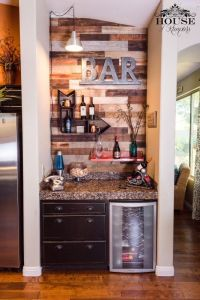 25+ best ideas about Small basement bars on Pinterest ...