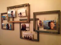 Creative clothespin picture frames | Creative Picture ...