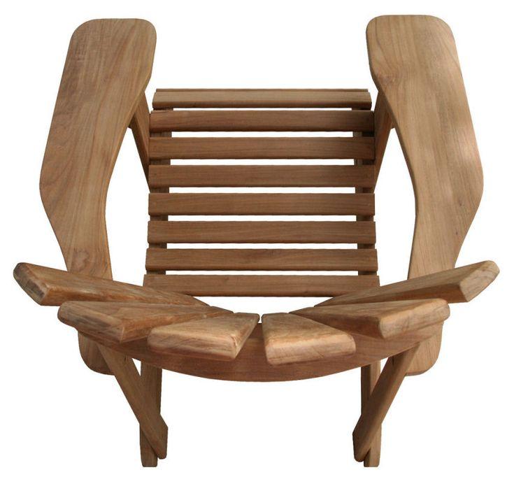 top view of the douglas nance montauk adirondack chair shop at atlanticpatio com teak adirondack chairsteak furnituregarden